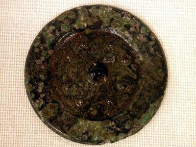 向山1号墳出土の方格規矩鏡