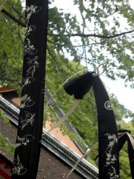 弓袋の模様が素敵(^。^)