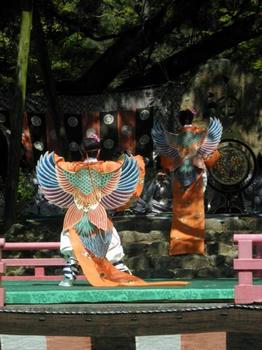 迦陵頻(左方童舞)