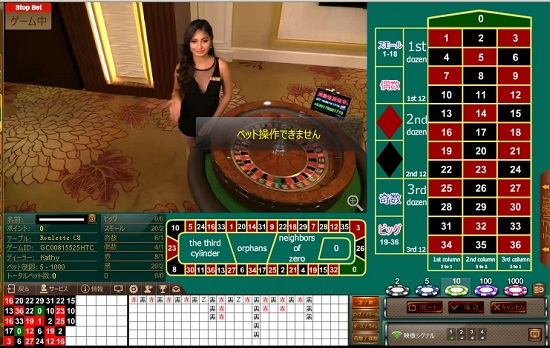 オンラインカジノ ライブカジノ