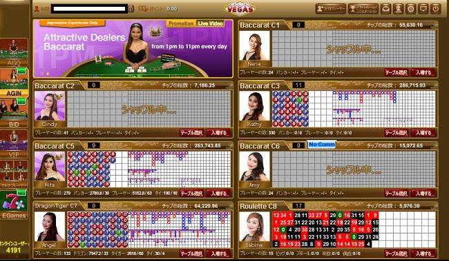 オンラインカジノ ライブカジノ エンパイア777