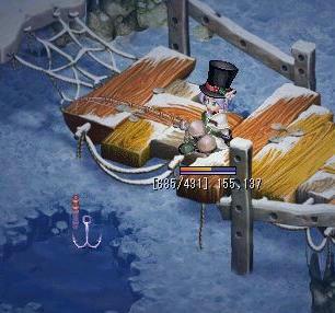 釣り中in万年雪の山荘屋外