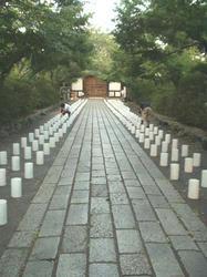 石山寺参道
