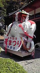 花祭りの象