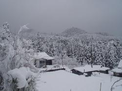 10大晦日雪景色