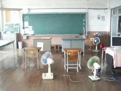 祝島小学校教室