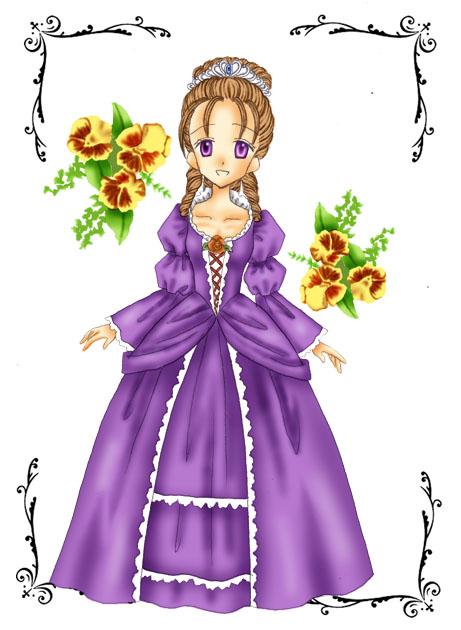 Princess Violet(追加で小雨プリンセス3)|雨の通り道