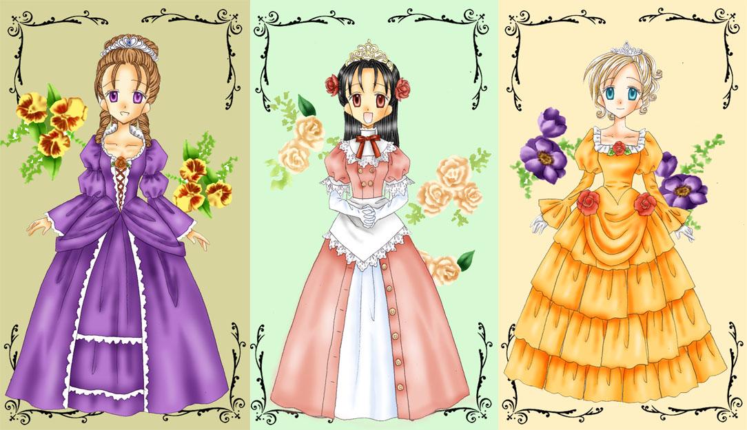 お姫様のヘッドドレスと言えばクラウンとか花冠も可愛いけど、 個人的にはやはりティアラが一番お姫様ーって感じがして好きです~! ↓でかいバージョン