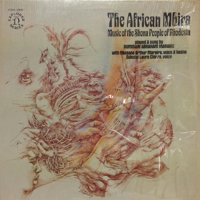Dumisani Abraham Maraire The African Mbira - Music Of The Shona People Of Rhodesia