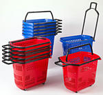 Rolling basket