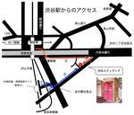 渋谷ステュディオ地図