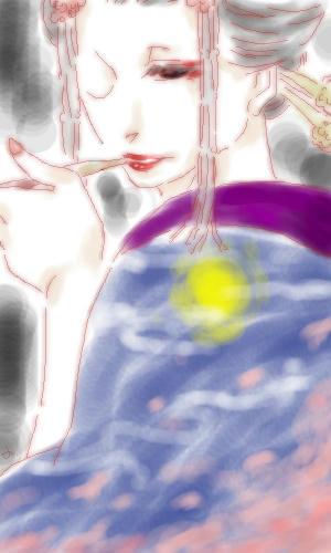 月に狂気 桜に狂う