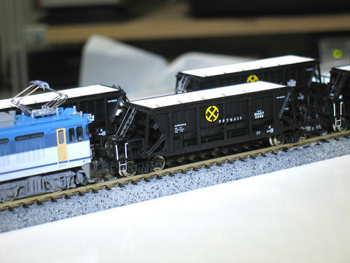 EF64+ホキ10000