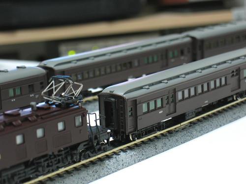EF57+郵便/荷物車