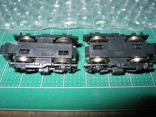 ED75奥羽線形動力台車
