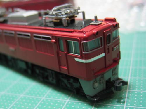 ED79・加工Nカプラー装着面