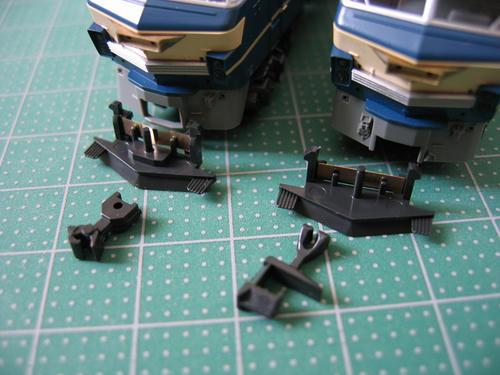 EF66・前期形と後期形