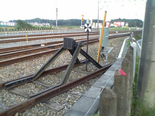 西武鉄道の一風景