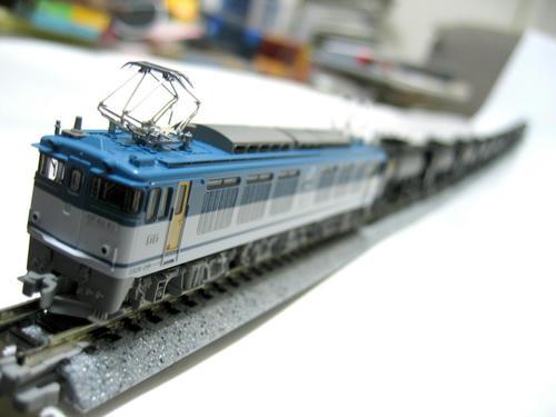 EF64・JR貨物更新色+セメント専用車