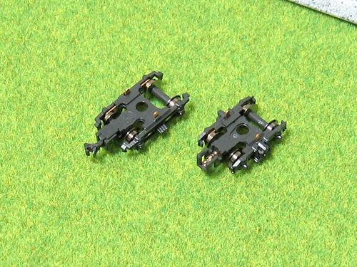 オハニ36のナックルをスハニ32のカプラーポケットに装着