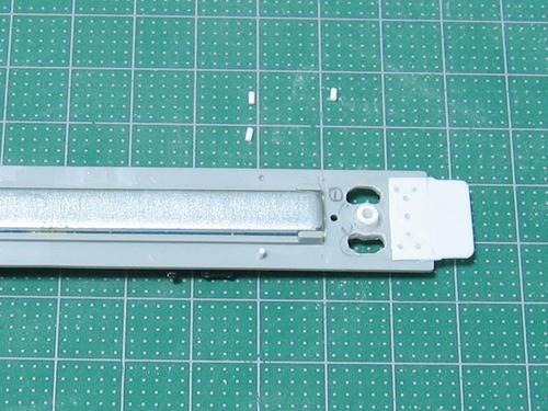 集電板固定用突起の製作