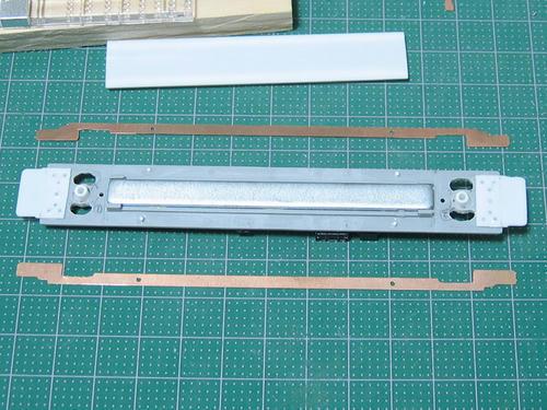 成形後の集電板と床板
