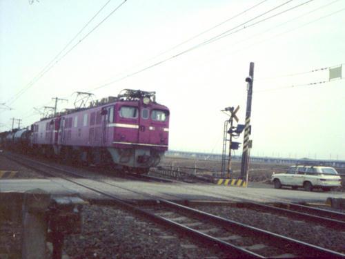 ED71の重連+タンク車・その1