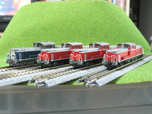 DD51各種