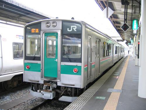 仙山線701系(クハ700-1506+クモハ701-1506)