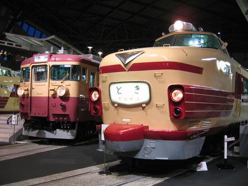 クハ181とクモハ455