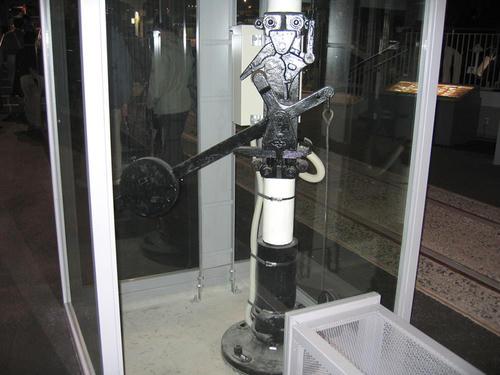 腕木式信号機・基部