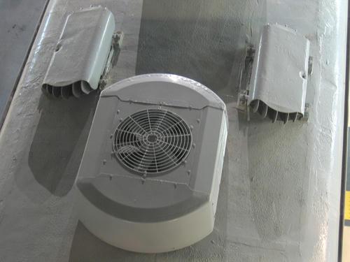 クモハ455の屋上機器