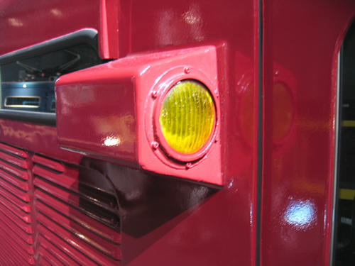 ED75の電暖表示灯