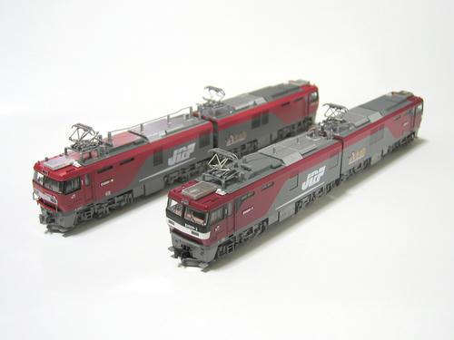 KATOのEH500・3次型とTOMIXのEH500・2次型(その1)