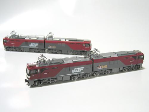 KATOのEH500・3次型とTOMIXのEH500・2次型(その3)