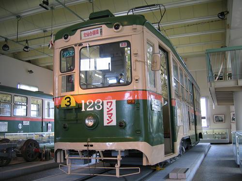 モハ100型(123号車)・その1