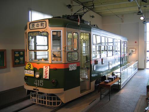 モハ400型(415号車)・その2