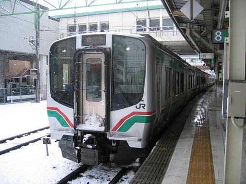 仙山線・E721系0番台‐08年12月31日