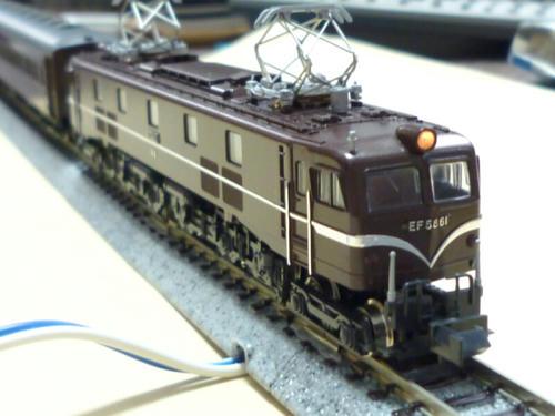 KATO:EF58-61(旧製品・友人所有)