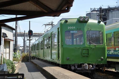クハ2500形(2501)+デハ2000形(2001)・その2