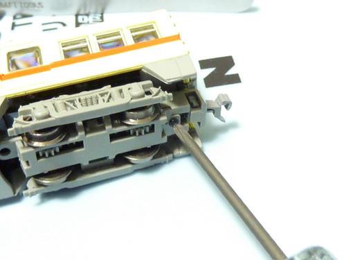 名鉄3400系カプラー交換・その4