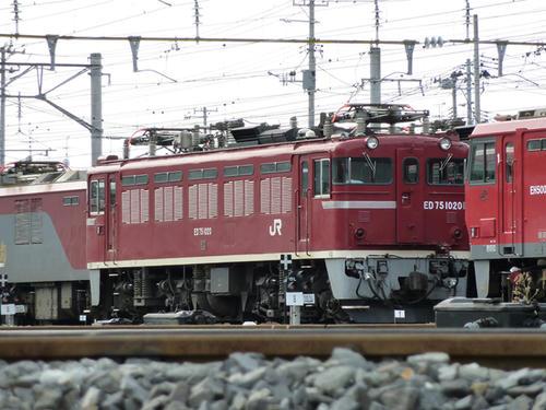 ED75 1020号機