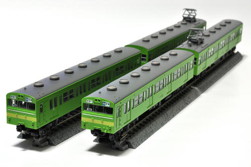 TOMYTEC:国鉄72系アコモ改造車(ウグイス+警戒色)
