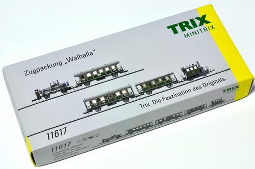 MINITRIX:Walhalla列車セット K.Bay.Sts.B. その1