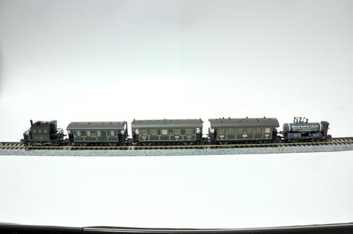 MINITRIX:Walhalla列車セット K.Bay.Sts.B. その2