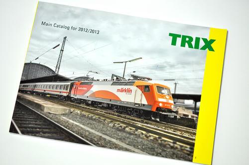 TRIXの2013年版カタログ