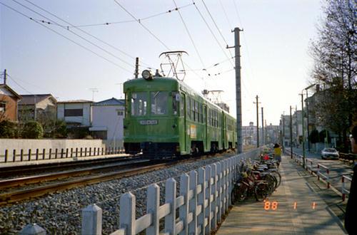 東急世田谷線デハ70形電車