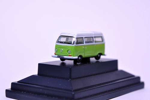 OXFORD:VW Bay Window Camper(Lime Green/White)