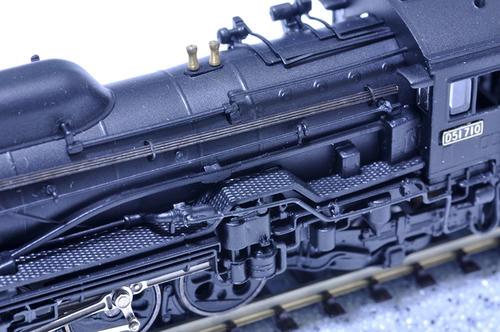 リアルライン:D51-710のボイラーまわり
