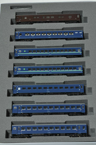 KATO:10系寝台急行「日南3号」7輌基本セット